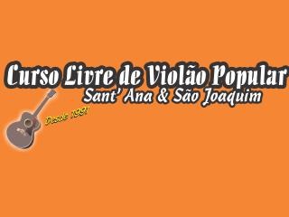 Curso Livre de Violão Popular Sant'ana e São Joaquim