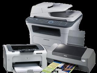 Reparo/troca de peças Impressoras