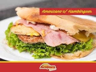 Americano com Hambúrguer