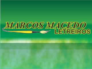 Marcos Macedo Letreiros